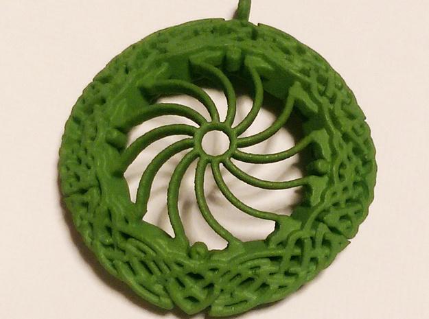 Celtic Border Knot Pendant