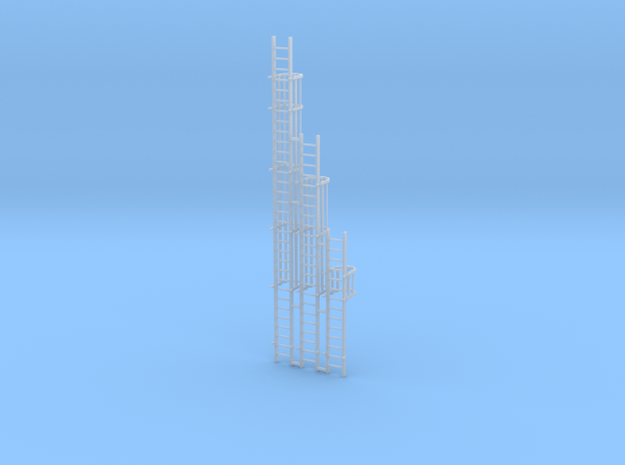 'N Scale' - Ladders For Grain Dryer