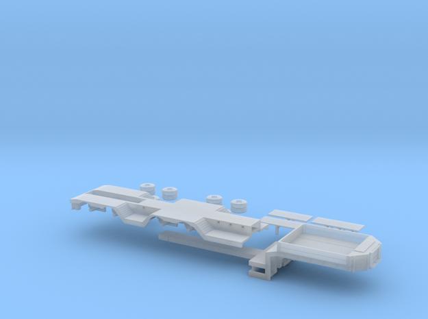 Tieflader ähnlich Broshuis V2 1/160 in Smooth Fine Detail Plastic