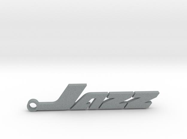 Honda Jazz - keychain in Polished Metallic Plastic