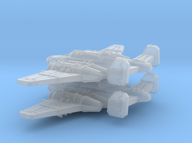 Bomber (Short nose version) in Smooth Fine Detail Plastic