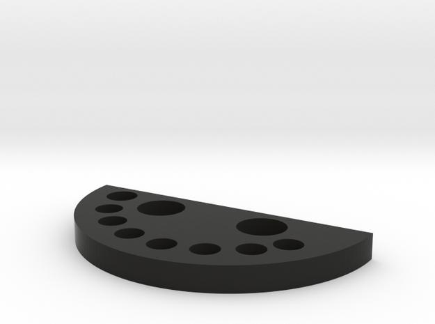 Desktop Sharpie Holder in Black Strong & Flexible