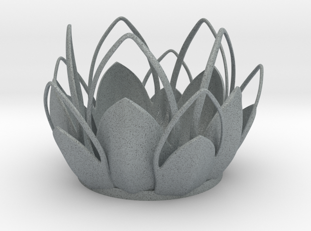 Tea-light - Flower 3d printed