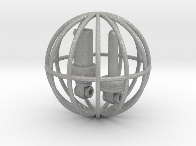 Bicycle Shock, 1:8 Scale, 130711 3d printed