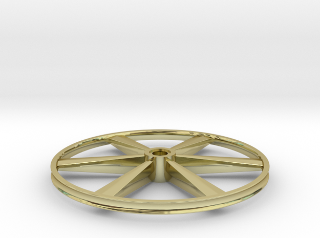 "CHAPP, 1:8 Scale, 24"" Bicycle Wheel, 120904 3d printed"