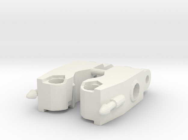 Cw Firefly-quickslinger Arms V1 in White Natural Versatile Plastic