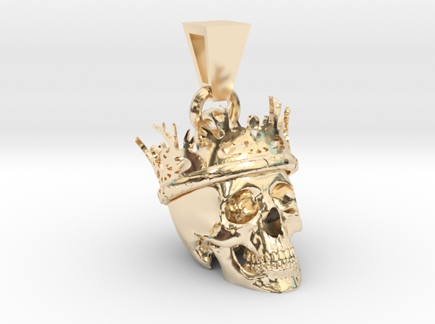 SKULL CROWN PENDANT