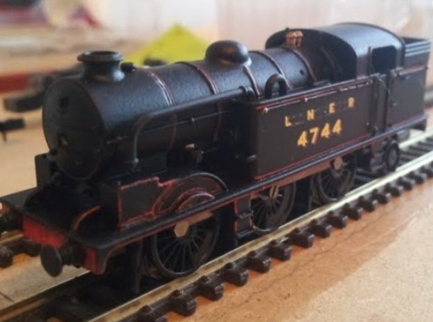 LNER N2 Body Shell in Frosted Ultra Detail