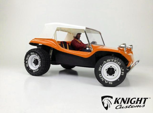 "SR40009 Beach Buggy Classic Full Roof 3d printed PLEASE NOTE: This is for the Full Roof part only. To purchase the complete bodyset in this configuration please click the ""Add Set to Cart"" Button below."