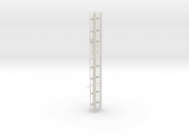Upper Spine Final (repaired) (1/700) in White Natural Versatile Plastic
