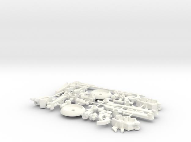 SpinAround Kit in White Processed Versatile Plastic