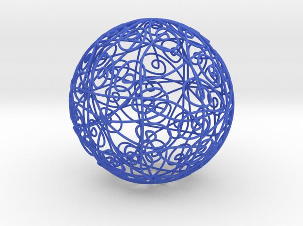 62 in Blue Processed Versatile Plastic