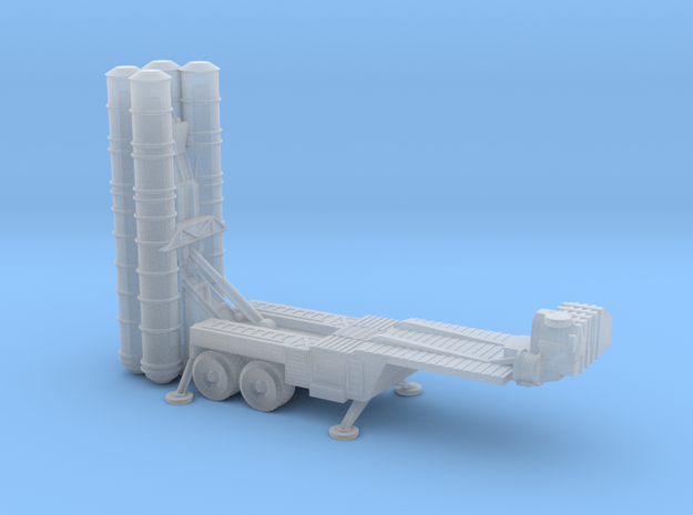 S-400 Missiles Deployed 6mm in Smooth Fine Detail Plastic