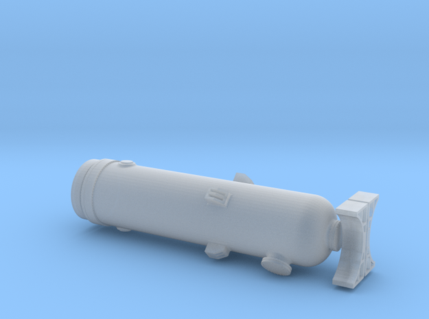 N Scale Pressure Vessel Load in Frosted Ultra Detail