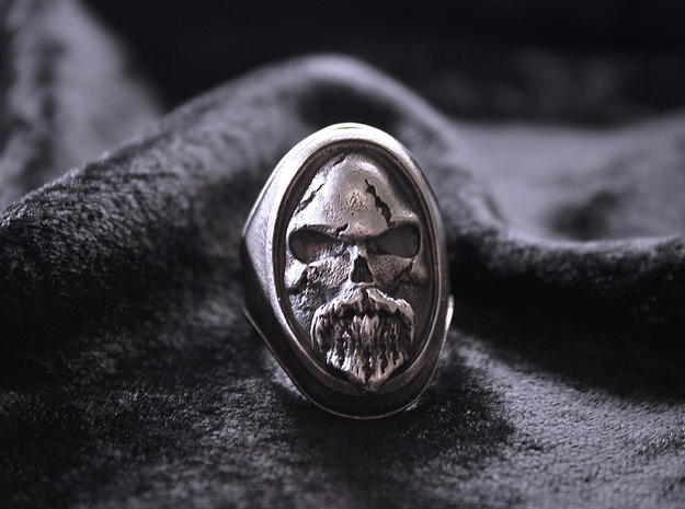 Ring Old Beard // Size US 10 3/4