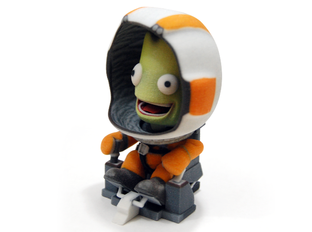Jebediah Kerman on IVA 3d printed Jebediah Kerman