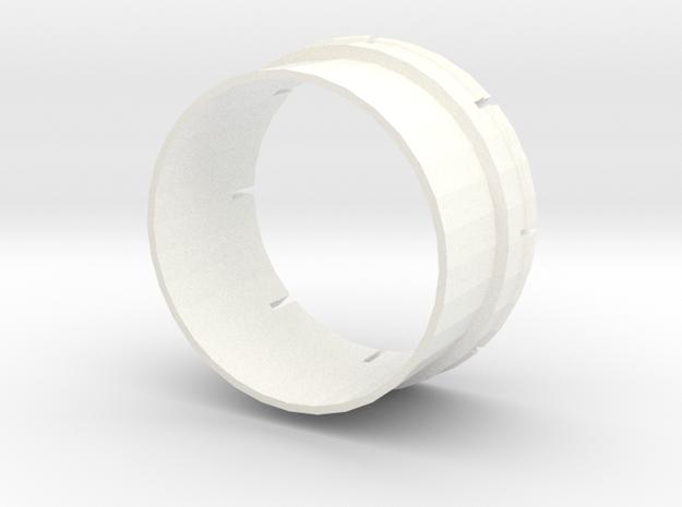 Shelby Lancer CSS Cap Repair Insert in White Processed Versatile Plastic