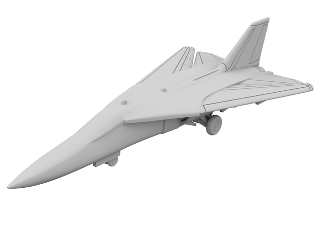 1:600 - F111 Aardvark [x2][A] in Smooth Fine Detail Plastic