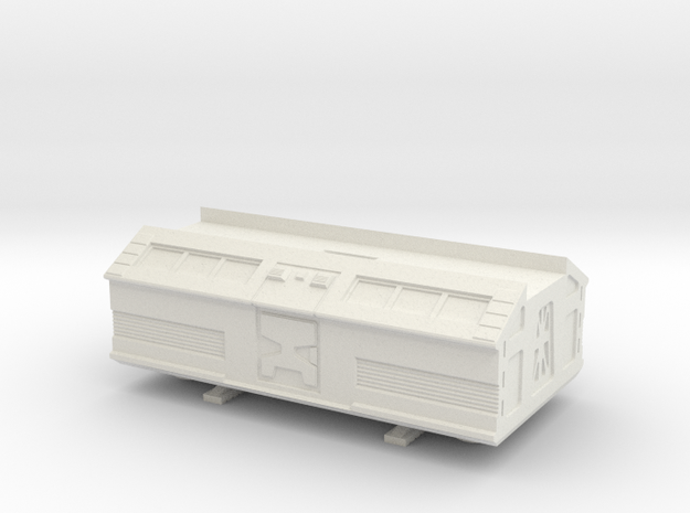 Space 1999 Passenger/Rescue Pod For Dinky Eagle in White Natural Versatile Plastic
