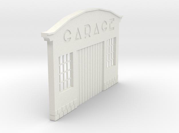 Z-1-43-garage-1 in White Natural Versatile Plastic