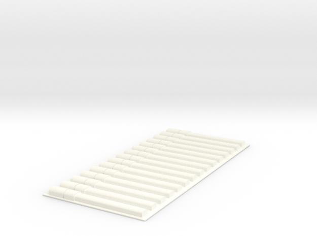 PillBoxe1 BT HG 2r X15 in White Processed Versatile Plastic