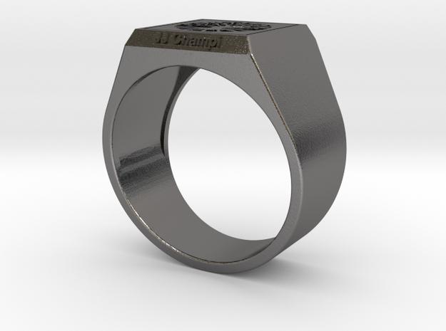 SELLO JJ CHAMPI in Polished Nickel Steel