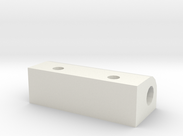 CC01 Front A Arm Brace Set in White Natural Versatile Plastic