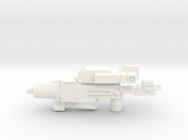 Photon Cannon for Legends Chop Shop in White Processed Versatile Plastic
