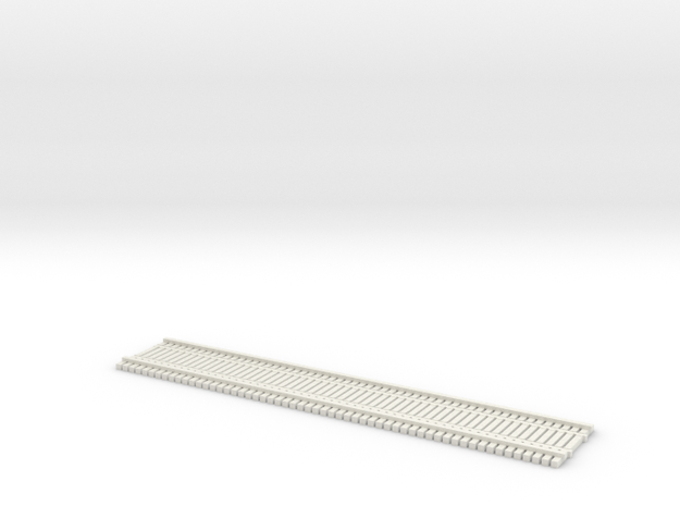 TT (1:120) BridgeTrack 60' x 12' Wide in White Natural Versatile Plastic