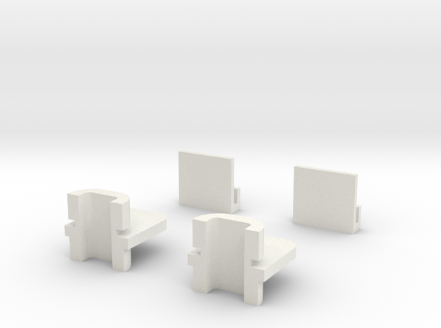 Dodge Omni Window Regulator Pack in White Strong & Flexible