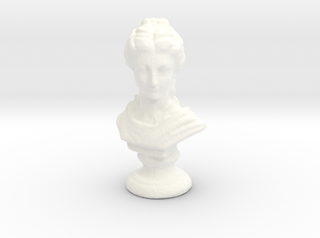 Proserpina, ancient Roman goddess in White Strong & Flexible Polished