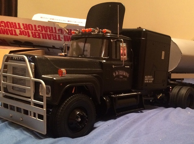 Air-dam-assy 3d printed This is a true RD MACK. Many thanks to RC builder Reggie (DK)