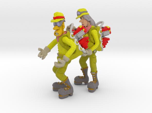 Pumper Team in Full Color Sandstone