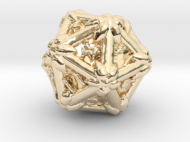 D 20 in 14K Yellow Gold