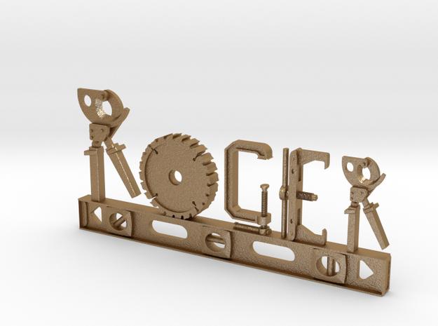 Roger Nametag