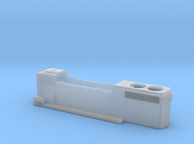 CN5560–5610 GP38-2W Hood As Built 1/87.1 in Smoothest Fine Detail Plastic