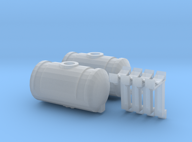 1/64 Kinze Tanks 1 Set in Frosted Ultra Detail