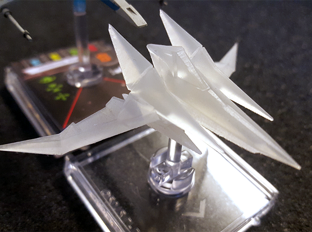 Arwing for X-wing TMG in Frosted Ultra Detail