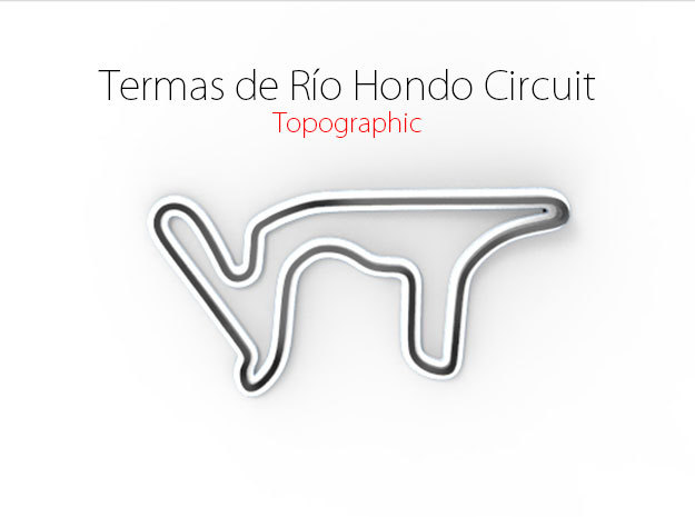 Termas de Río Hondo Circuit | Large in Full Color Sandstone