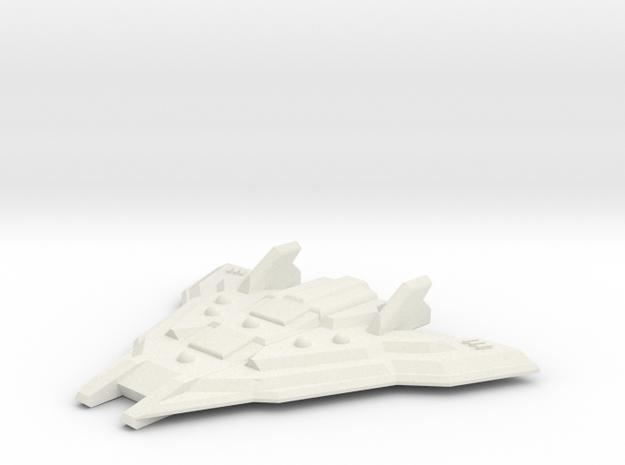 Battleship in White Strong & Flexible