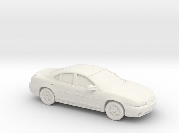 1/24 1997 Pontiac Grand Prix Sedan in White Natural Versatile Plastic