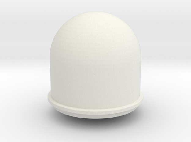 SATCOM dome in White Strong & Flexible