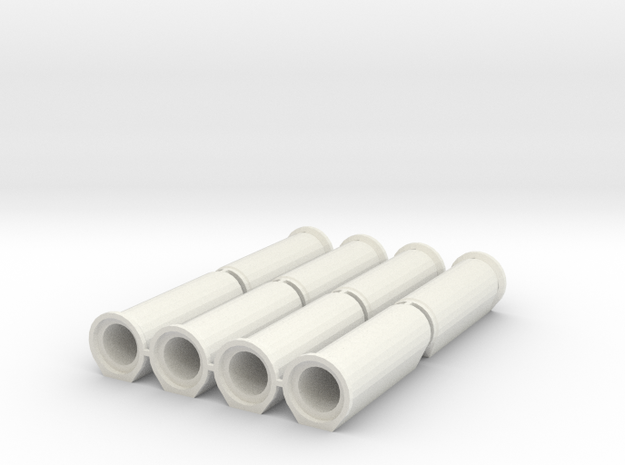 1/50 Betonrohr DN600 B-KF-GM 2500 8x in White Natural Versatile Plastic