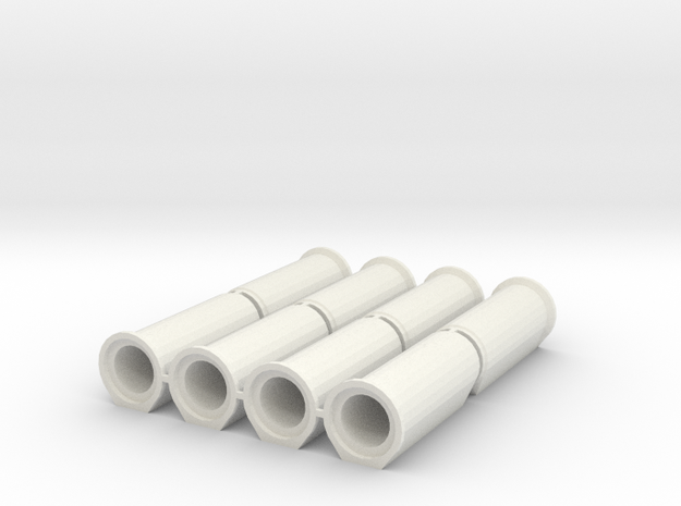 1/50 Betonrohr DN700 B-KF-GM 2500 8x in White Natural Versatile Plastic