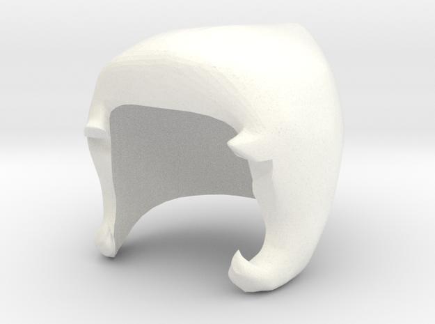 Custom Pearl Inspired Hair for Lego in White Processed Versatile Plastic