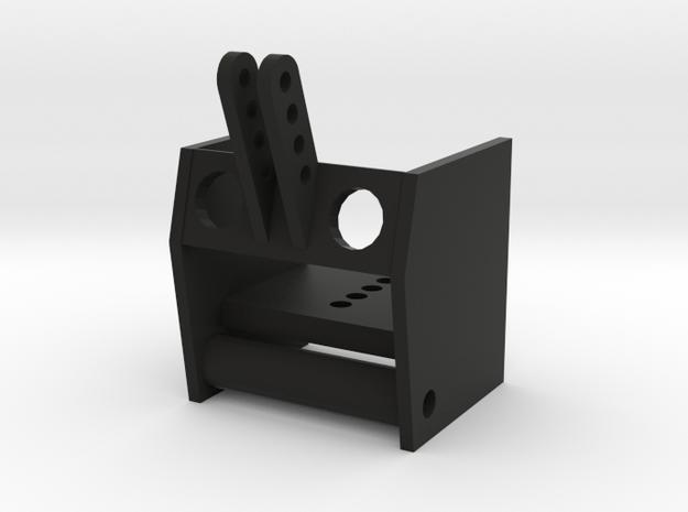 Frontheberfuss 1/16 in Black Natural Versatile Plastic