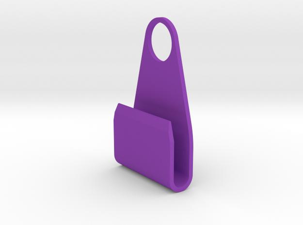 SmartPhone charging support in Purple Processed Versatile Plastic