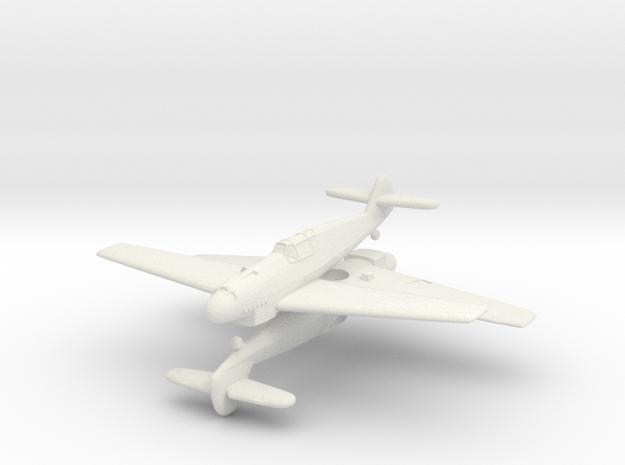 1/200 Messerschmitt  Bf 109B (x2) in White Natural Versatile Plastic