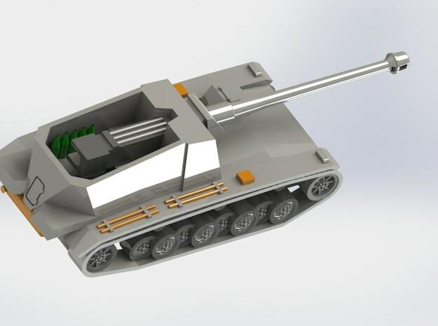 Sturer Emil & Dicker Max Tank Hunters 1/285 6mm 3d printed Sturer Emil