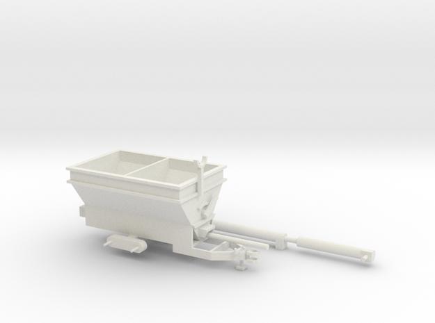 1/64 Grain-O-Vator in White Natural Versatile Plastic